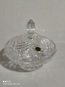 CRISTAL CAPRI  tavola porta bonbon vintage cristallo