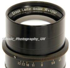 Leitz OTPLO Leica TELYT f=20cm 1:4.5 VISOFLEX Lens by Ernst LEITZ Wetzlar 1957