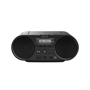 Sony ZS-PS55B CD Boombox with DAB and FM Radio, Black