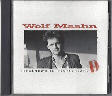 WOLF MAAHN / IRGENDWO IN DEUTSCHLAND * NEW CD * NEU *