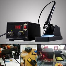 220V 75W 967 Electric Rework Soldering Station Iron LCD Display Desoldering SMD