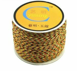 Cotton Cord Nylon Thread Chinese Knot Plastic String Rope 0.8mm 1mm 1.5mm 2mm