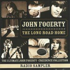 JOHN FOGERTY The Long Road Home Sampler promo 2CD w/interview