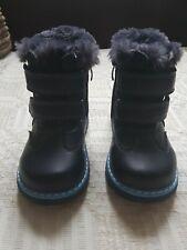 Baby Infant Winter Warm Fur Shoes Size 24EU 7UK