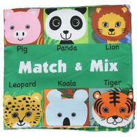 HOT Soft Baby Cloth Activity Crinkle Book Early Education Toys Cloth Book for Ki