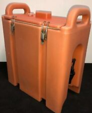 Cambro Orange Insulated Beverage Carrier 250lcd 25 Gallon Capacity Our 1