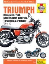 2001-2015 Triumph Bonneville Speedmaster Thruxton Scrambler Repair Manual 0365