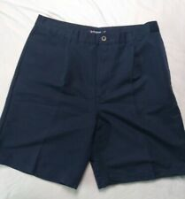 Chaps Golf Shorts Size 36 Navy Blue
