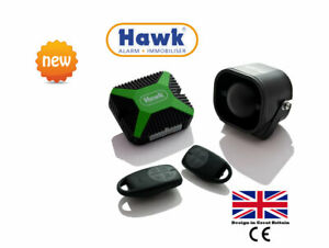 CAR ALARMS CENTRAL LOCK + IMMOBILISER + 2 Zone PROXIMITY SENSOR+ UK ENGINEERED
