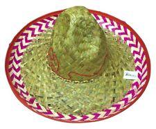 Red Salsa Spanish Mexican Fiesta Festive Sombrero Hat Costume Cinco de Mayo