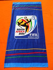 FIFA WORLD CUP 2010 Serviette Bain Beach Towel South Africa Official Licence
