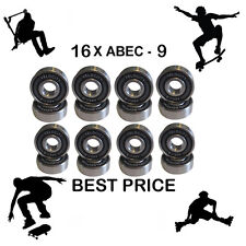 16 Abec 9 608 2S Wheel bearings Skateboard scooter Quad inline Roller skate 7 11