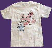 VINTAGE Pokemon Marrill Wake Up Inspired T Shirt White Tee 90s Size XL