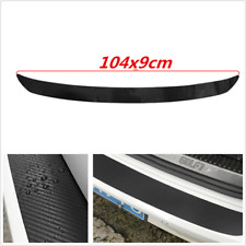 Car Accessories Car Rear Tail Trunk Bumper Scuff Protect Carbon Fiber Stickers
