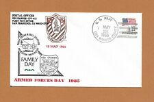 """USS RANGER (CV-61) U.S. NAVY SUPERCARRIER SHIP COVER 1985, """"ARMED FORCES DAY"""""""