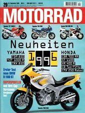 M9520 + Test BMW R 1100 RT + Gebrauchtkauf SUZUKI GS 1100 G + MOTORRAD 20/1995