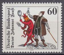 Germany BUND BRD 1979 mi 1030 ** Docteur Faust homunculus Méphistophélès
