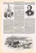1850 Corrida De Toros Madrid accidente Montes matador Richard Manks peatonal Parkhurst