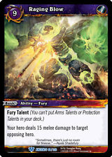 WOW WARCRAFT TCG WAR OF THE ANCIENTS : RAGING BLOW X 4