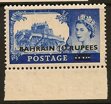 BAHRAIN : 1955 10R on 10/- Type II  SG 96a unmounted mint