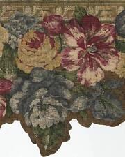 LASER CUT  FLORAL  Wallpaper BORDER Craftsman 682302