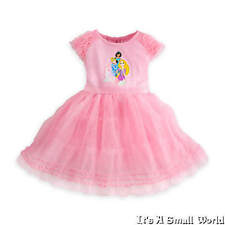 Disney Store Disney Princess Pink Tutu Knit Dress for Girls Size 2 NWT