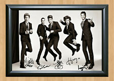 One Direction Niall Horan Harry Styles Signed Autographed A4 Print Photo Poster