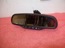 03- 06 CHEVY SILVERADO GMC SIERRA REAR VIEW MIRROR COMPASS TEMPERATURE 15176973