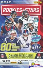 2017 Panini Rookies & Stars Football HUGE 60 Card HANGER Box-PURPLE PARALLELS