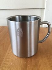 """ROYAL PRESTIGE STAINLESS STEEL DOUBLE WALL MUG CUP 3 1/2"""" TALL"""