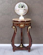 Blumentisch Barock Blumenhocker runder Tisch Barocktisch Beistelltisch Antik