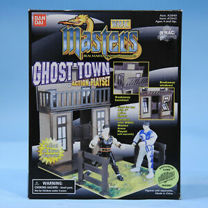WMAC Masters Ghost Town Playset  Rare Bandai Vintage Figure Universal Studios