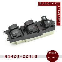 84820-22310 RH Window Master Switch for Toyota Carina Corona Camry Hilux Starlet