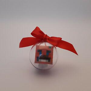 Christmas bauble Decoration / Hanging Decoration drop box fort nite tomarto man