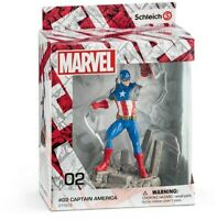Schleich Marvel Captain America , #02 [New Toys] Action Figure, Toy