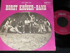 HORST KRÜGER-BAND feat. TAMARA DANZ Ich bin da / DDR SP 1974 AMIGA 456070