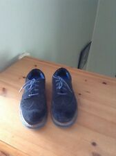 Nearly new M&S size 11 UK 29 EUR black suede shoes
