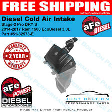 aFe Stage-2 Pro DRY S Intake fits 2014-2017 RAM 1500 EcoDiesel 3.0L 51-32573-E