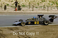 Ronnie Peterson John Player Special Lotus 72E Dutch Grand Prix 1974 Photograph