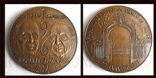 Médaille Bronze DE GAULLE ADENAUER Traité Franco Allemand