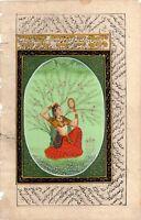 Rajput Painting Ragini From A Ragamala Series Indian Miniature Art On Paper