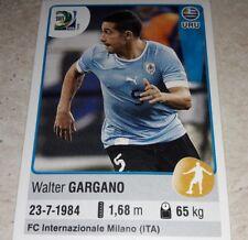 FIGURINA CALCIATORI PANINI URUGUAY GARGANO FIFA CONFEDERATION CUP BRAZIL 2013