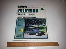 Gregorys Workshop Service Repair Manual No.191 Datsun Bluebird Series 1 1981-83