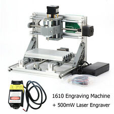 3Axis Mini USB Milling Machine Engraving DIY CNC Router Kit+500mW Laser Engraver