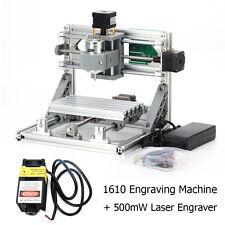 3Axis Mini USB Milling Machine Engraving DIY CNC Router Kit+500mW Laser Engraver