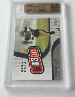 2006 TOPPS NFL 8306 #NFL5 REGGIE BUSH BGS GEM MINT 9.5 (MR)