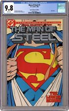Man of Steel 1A Direct Variant CGC 9.8 1986 1497526023