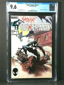 Web of Spider-Man #1 CGC 9.6  1st  Appearance of the Vulturions 1985