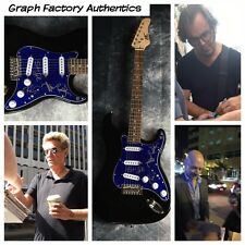 GFA American Rock Band x4  * JOURNEY * Signed Electric Guitar PROOF J2 COA