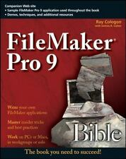 NEW - FileMaker Pro 9 Bible by Cologon, Ray